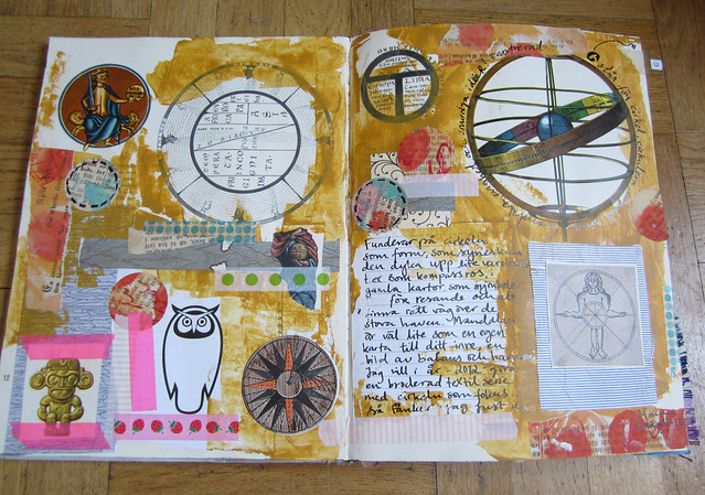 Art journal peek: Circle Fascination