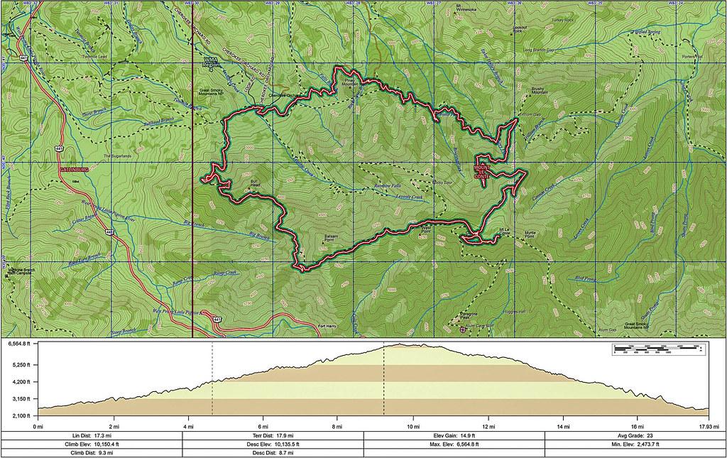 Great Smoky Mountains National Park - Trillium Gap : LeCon ...