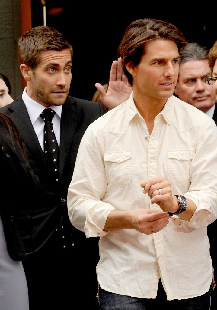 Tom Cruise wearing his ATL1-C