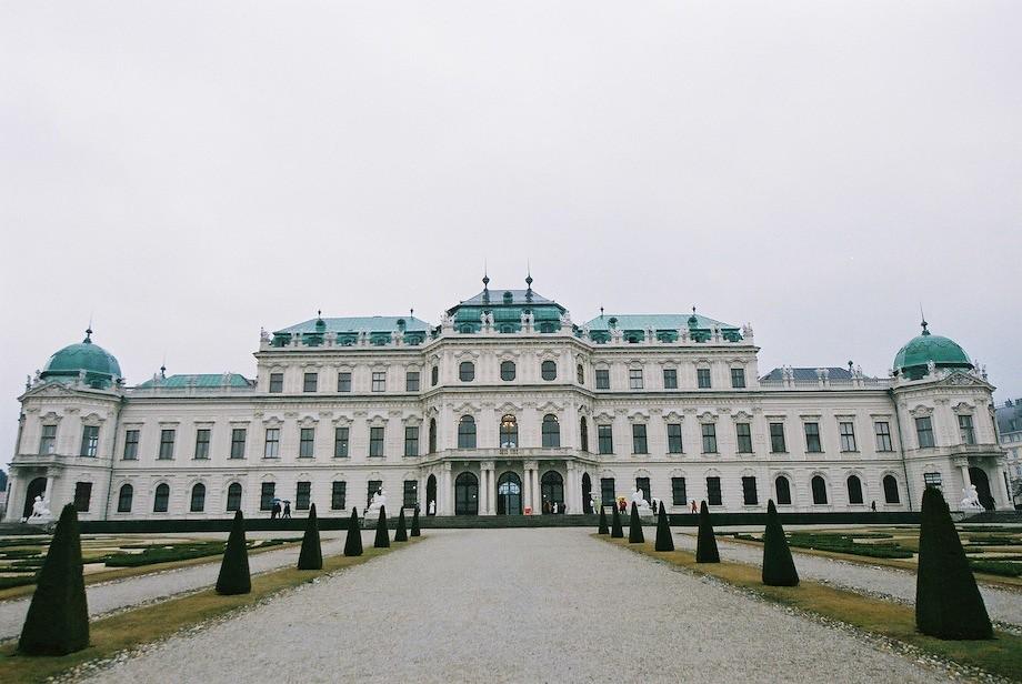 貝維德雷宮(Schloss Belverdere)上宮