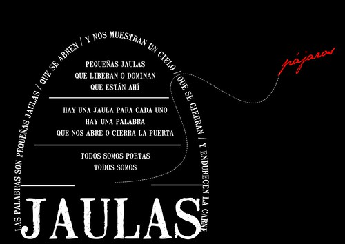 Jaulas (poema visual)