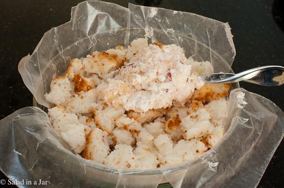 Fruity Snowball Cake