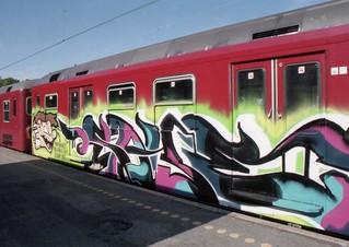 Line C at Klampenborg, June 1999