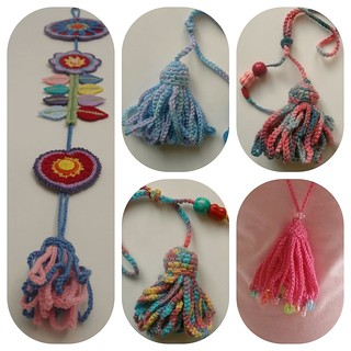 More crochet tassels