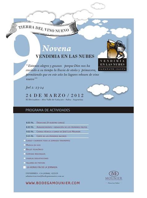 Cafayate: Novena Vendimia en Las Nubes