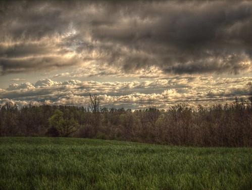 clouds rural