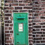 Drogheda - Old Style English Post Box (Painted Green)