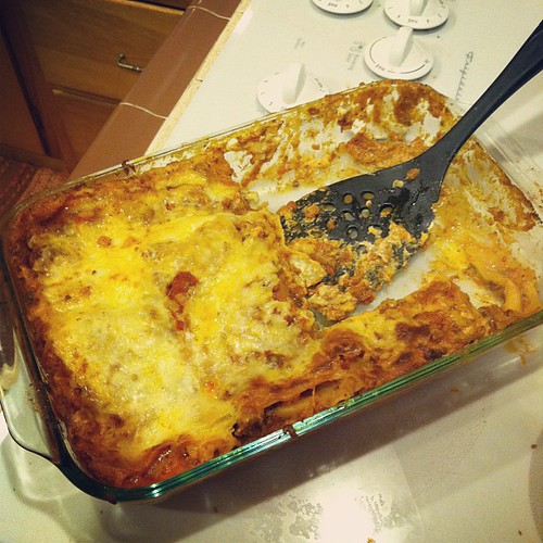 Verdict on lasagna: outrageously good. Recipe to come