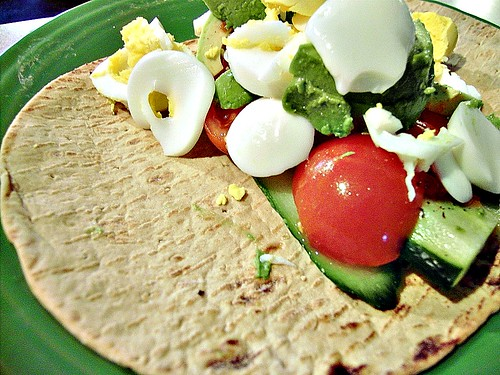 Egg & Avocado Wrap