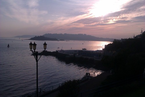 Sunset Down at Plymouth Hoe