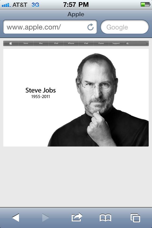 Rest In Peace Steve Jobs >> Rest In Peace Steve Steve Jobs 1955 2011 I M Very Upset