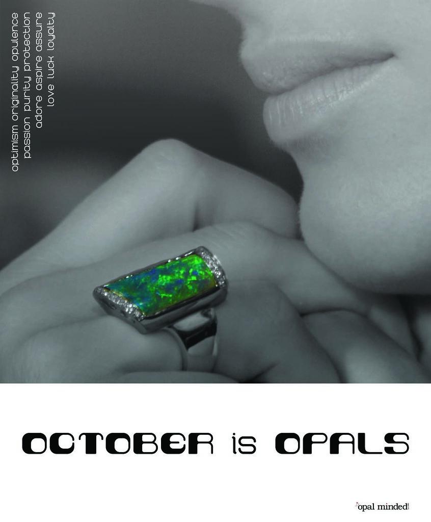 October is opals