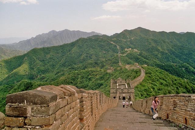Gran Muralla China en Mutianyu
