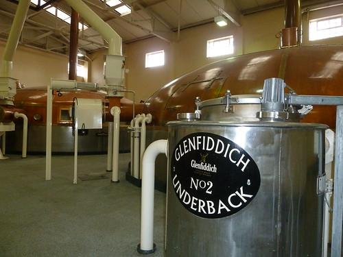 Underback at Glenfiddich Distillery