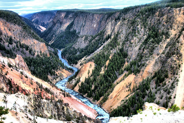 Downstream from Inspiration Point HDR 9/18/2011