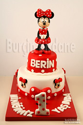 Minnie Mouse Pasta ve Kurabiyeleri