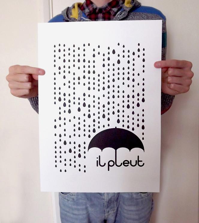 il pleut - Held