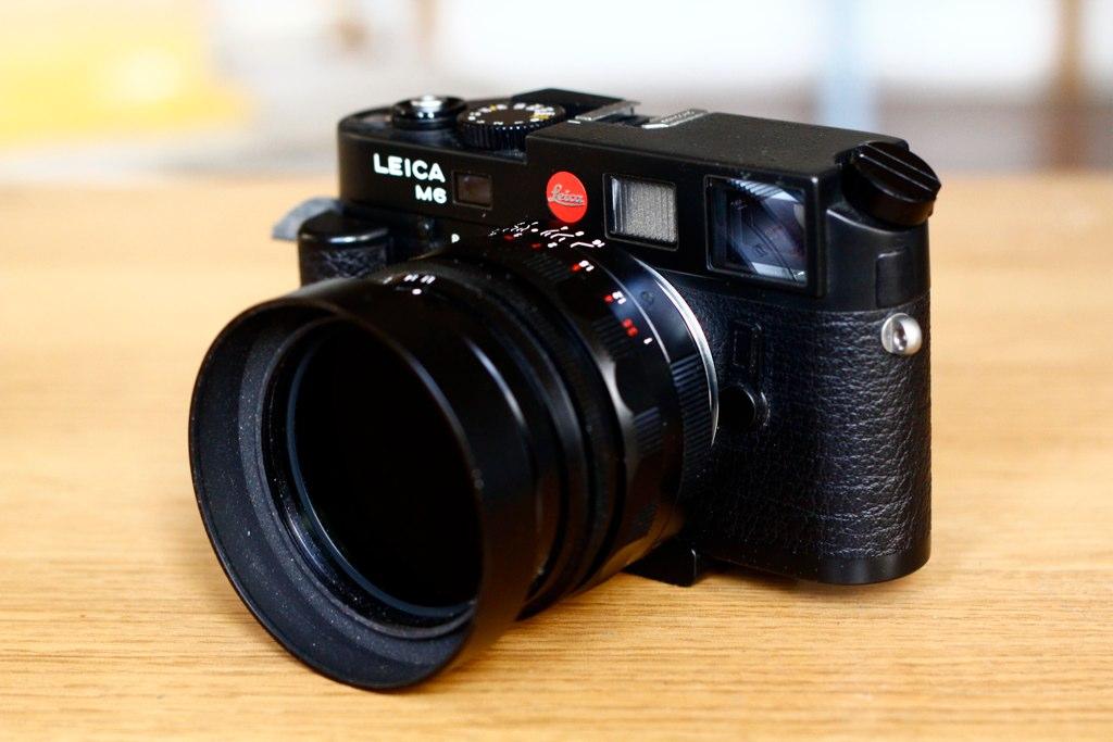 Leica M6 TTL + 50mm Voigtlander f1 1 + B&W 6 Stop ND   Flickr