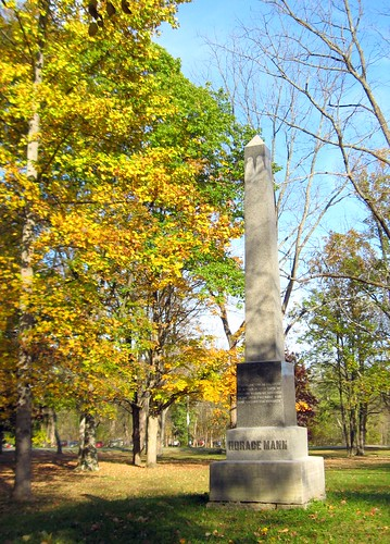 Monument to Horace Mann, Antioch College