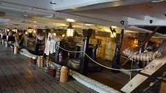 hms victory lower gun deck hammocks 1