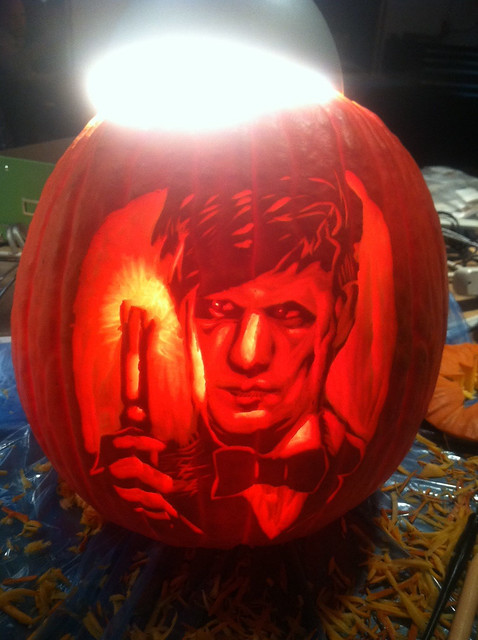 Dr Who Pumpkin Carving