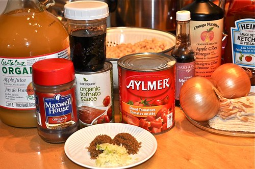 baked beans/ingredients