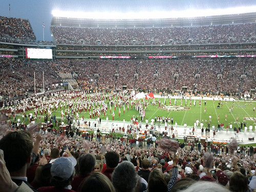 The Crimson Tide takes the field by acnatta