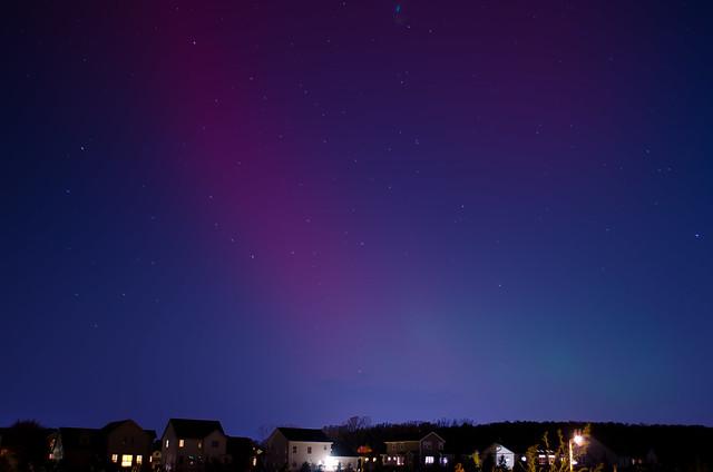 Aurora Borealis in Madison, WI