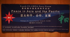 Peace in Asia and Pacific Conference banner