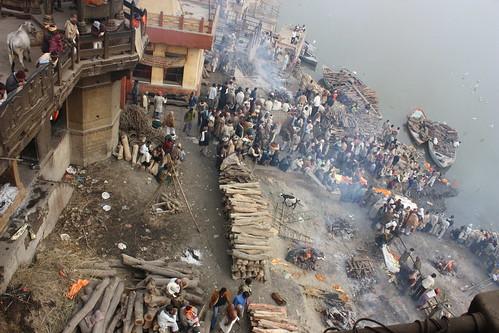 Varanasi, Manikarnika Ghat