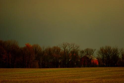 autumn trees ohio red field barn october farm sony alpha a230 2011 fairfieldcounty stoutsville