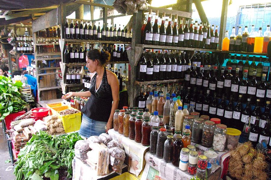 Рынок Белен, Икитос, Перу