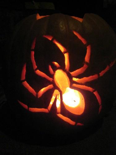 spider o'lantern
