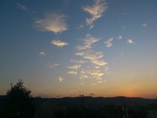 sunset sky cloud sun sunrise ericsson sony 夕陽 太陽 日落 arcs 天空 朝霞 日出 晚霞 雲彩 xperia lt18i