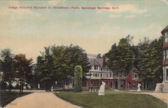 Judge Hilton's Mansion in Woodlawn Park Saratoga Springs NY