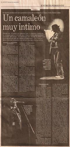 Periódico El Mundo Mayo 6 de 2009