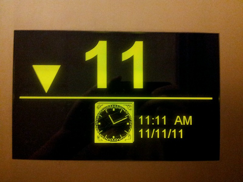 11th floor on 11/11/11 at 11:11
