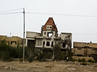 Destroyed House in Iraq
