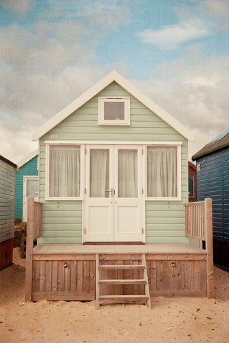 Pastel beach huts by ZedBee | Zoë Power