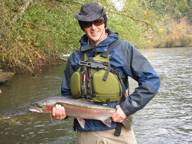 November mckenzie and willamette fishing report the for Fishing eugene oregon