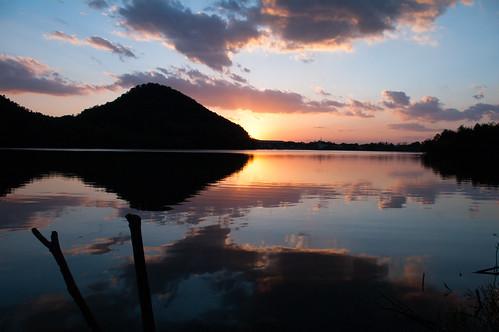 sunset dam sanda hyogo k7 da1855