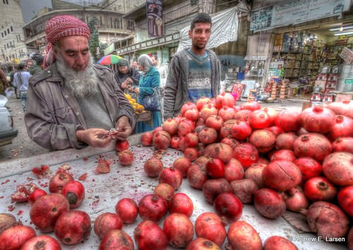 Pomegranates  by papalars