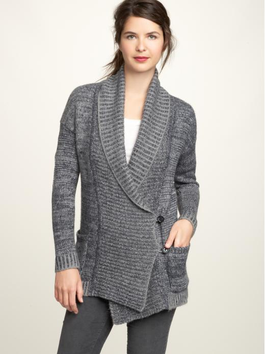 gap shawl cardigan