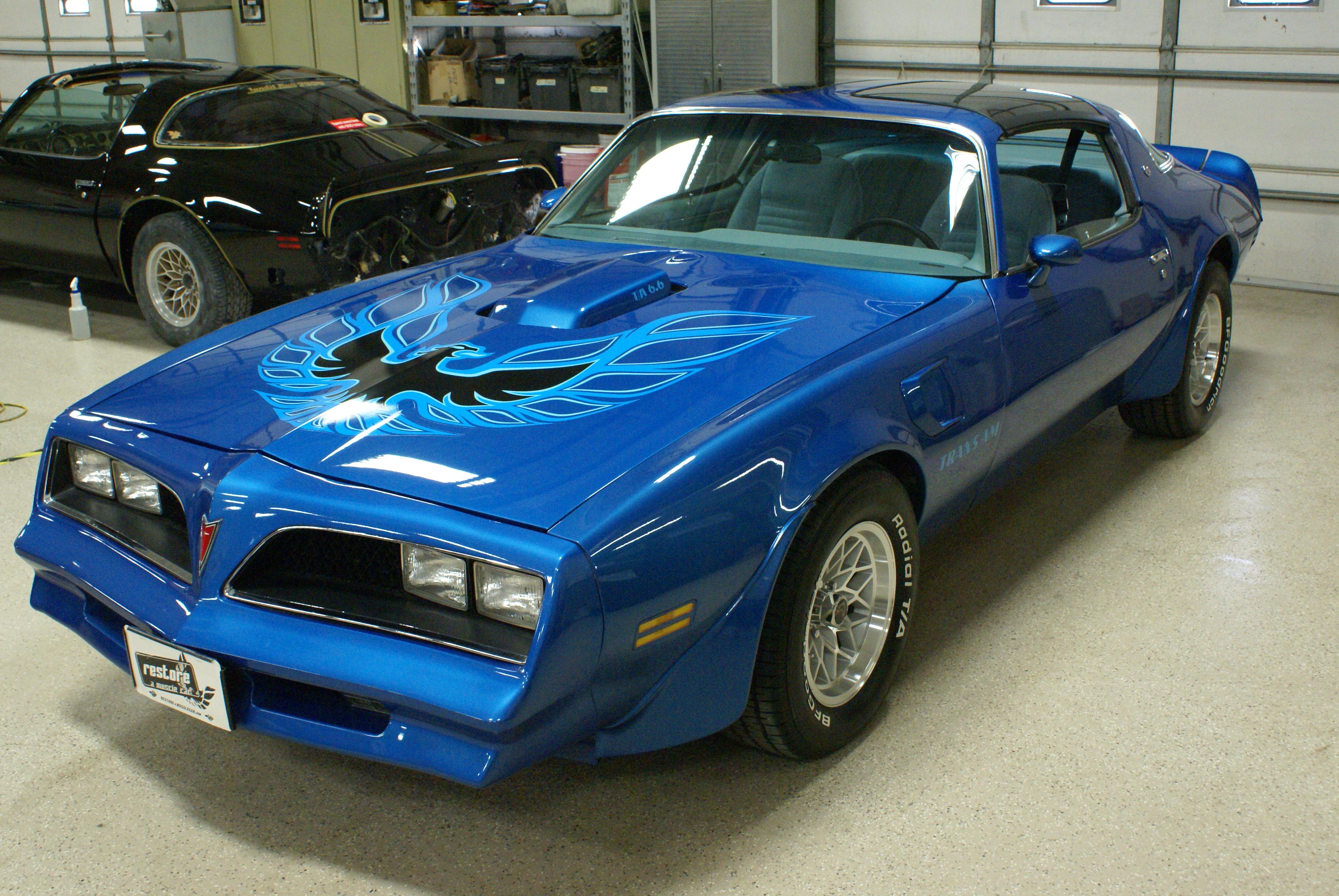78 Trans Am Martinique Blue Auto W72 T Tops Flickr