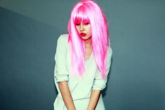 denni pink hair
