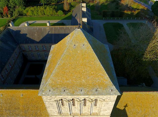 L'abbaye de la Sainte-Trinité à Lessay (Manche-FR)