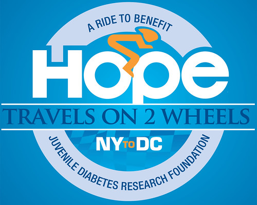 Hope on 2 Wheels Design-Blue