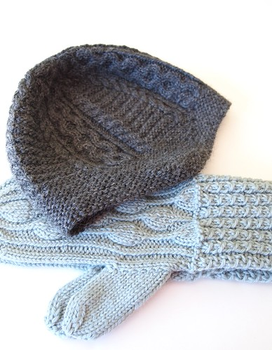 Helm & Breathe Deep mittens