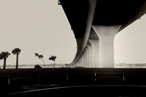 SEWALL'S POINT BRIDGE HUTCHINSONS ISLAND ~ FL. by TERP'S