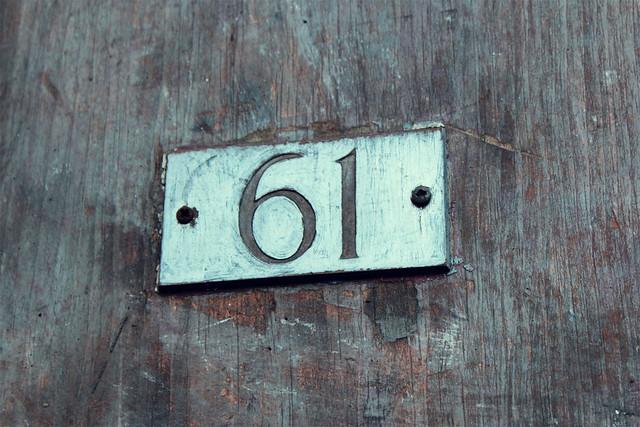 61 door